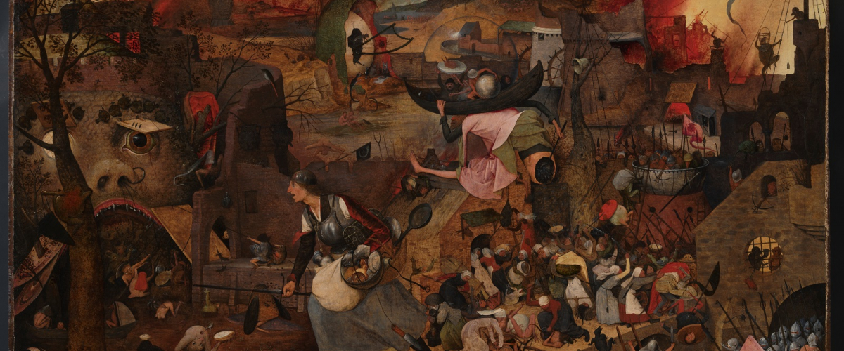 Pieter Bruegel de Oude, Dulle Griet, 1563, olieverf op paneel, Museum Mayer van den Bergh, Antwerpen, foto: KIK-IRPA