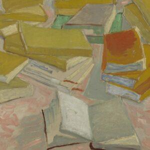 Image: Vincent van Gogh, Piles of French Novels, 1887, Van Gogh Museum, Amsterdam (Vincent van Gogh Foundation)