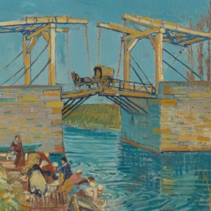 Vincent van Gogh, Brug te Arles (Pont de Langlois), midden maart 1888, olieverf op doek, 53,4 x 64 cm, Kröller-Müller Museum