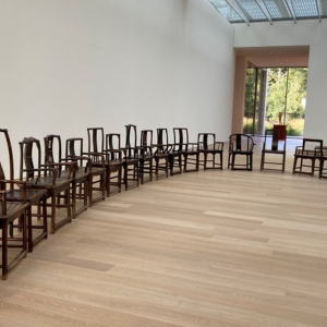 Image information: Chairs from the artwork Fairytale (2007), Ai Weiwei, Voorlinden Museum, Photo by Xuan Ma, 24/9/2021
